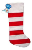 Red And White Stripy Christmas Stocking