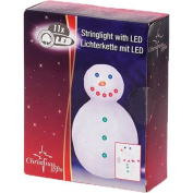 30 Cm, Christmas Lighting String Light Snowman With 11 Led Xmas Decoration Gifts