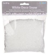 Decoration , Artificial Snowflakes 85g, White, Crafts, Christmas, Displays