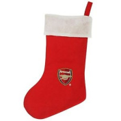 Arsenal Fc Official Football Crest Christmas Stocking (one Size)