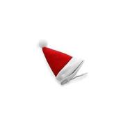 Christmas Santa Hair Clip, Santa Hat
