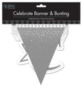 Christmas, New Year, Birthday Celebration Banner & Bunting