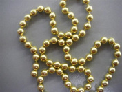 24f Gold Hanging Beard Garland Christmas Tree Xmas Tinsel String Decoration