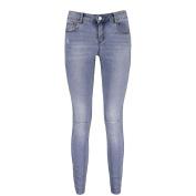 Amco Women's Unhemmed Skinny Jeans