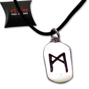 etNox by ECHT - MAN-Rune Pendant - magic and mystic - Sterling Silver - K5000