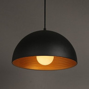 GOOD AND GOOD-chandelier@1M E2718 * 20 cm spectrum creative lamp chandelier round the chimney iron pendant in black and white