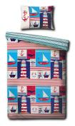 Maritime Junior Duvet Cover Set - 120cm x 150cm