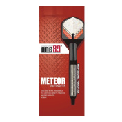 ONE80 Meteor 6023 Soft-Tip Darts - Silver, 18 g