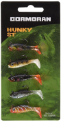 Cormoran Lure Minijig Sets Hunky Male Pack of 5 Weight 1.8 g, Red/Green/Brown/Silver/White, 50 – 30098