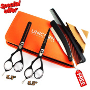 . Left -handed 2 X Professional Hair Cutting & Thinning Set +