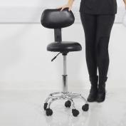 Salon Beauty Massage Stool Black Styling Hairdressing Barber Tattoo Manicure ...