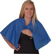 Solida Hairdressing Cape With Closing Strap Royal Blue