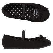 Basics Brand Kids' Canvas Ballet Shoes