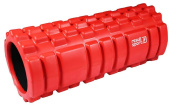 ResultSport® Foam Roller for Deep Tissue Muscle Massage with Colour PRINTED Easy to Follow Exercise BOOK - Trigger Point Back Massage, Lightweight, Grid Designed, Yoga Exercise, Physical Therapy, Myofascial Release