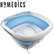 Homedics Foldaway Luxury Foot Spa With Heat Bubble Bath Feet Massage Pedicure