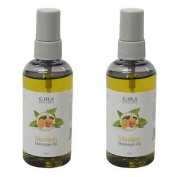 Twin Pack Of Mandarin Soothing Therapy Natual Oils No Waste Spray 100ml Bottles