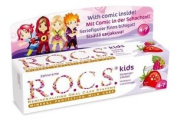 R.o.c.s. Kids Raspberry And Strawberry - Effective Teeth And Gums Protection For
