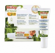 Nuby All Natural Kids Toothpaste And Finger Toothbrush 1 X 20 Ml