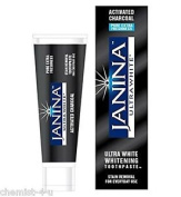 Janina Ultra White Activated Charcoal Toothpaste 75ml