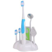 Dental Oral Care Kit Sonic Toothbrush Mirror Tooth Stain Eraser Plaque Remover