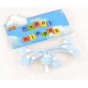 3 Pack Safety Nappy Pins Baby Nappy Fasteners - Nippas Nappi Nappies Needle