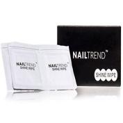 Nail Trend - Shine Wipes - Gel Prep & Shine Wipes Pre Wipe & Sticky Residue