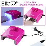 Elite99 5.5w Professional Dual-function Nail Dryer Led Nail Lamp Curing Gel With