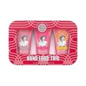 Soap & Glory Hand Food Trio Set, New Women's Hand Cream Set + Free P & p