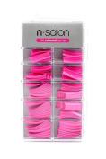 ** N Salon 100 Nail Tips Various Colours New **