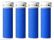 Scholl Compatible Express Pedi Coarse Replacement Rollers Refill X 4