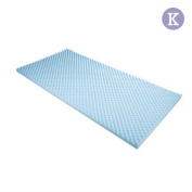 Gel Infused Egg Crate Mattress Topper  - King