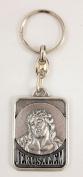 """Ecce Homo"" Christ Crucifixion key chain Christian Catholic key ring"