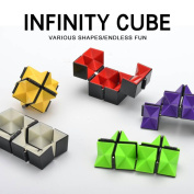Infinity Fidget Toy 2017 Newest Magic Toy Unlimited Fidget Toy with Triangular Accessory Inside Stress Anxiety Relief Toy