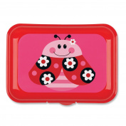 Stephen Joseph Snack Box Ladybug Pink New *fast Delivery*