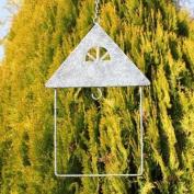 House Shaped Hanging Garden Bird Feeder Fatball Holder