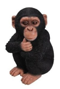 Large Baby Chimpanzee Real Life Ornament By Vivid Arts