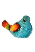 Bright Ceramic Bird Garden Ornament.