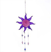 Multi-colour Sun Design Hanging Suncatcher With Beads Home And Garden Ornament (