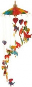 Colourful Childrens Elephant Paper Mobile