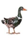 Mr. Duck Metal Garden Ornament