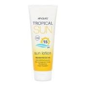 ** Anovia Tropical Sun Lotion Spf 15 100ml New** Water Resistant Uva Uvb
