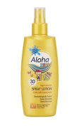 Aloha Kids Sun Protection Coloured Lotion Spray Spf 30 200ml
