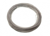 Galvanised Garden Fence Wire 1.25 Mm 50 M 3 Reels Each 500g Weight