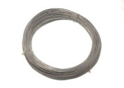 *roll Of Galvanised Garden Fence Wire. 0.7 Mm 160 Metres @ 3 - 500g Ea In Weight