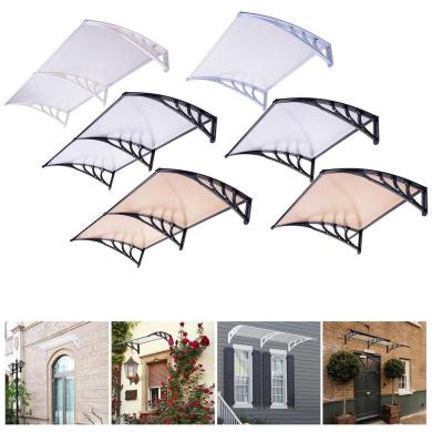 Window Door Canopy Awning Sun Shade Hollow Sheet Garden Roof Shelter Incd Vat