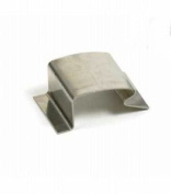 20 X 'g' Greenhouse Glass Clips - Stainless Steel
