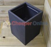 40cm Cube Rectangular Flower / Plant Pot Garden Pot Grow Garden Patio