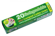 Garland Gal04l520 Biodegradable Liners With 5 Litre Compost Caddy - Transparent