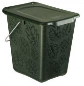Compost Bin Greenline 7 Litres Made Of Organic Materials Green New
