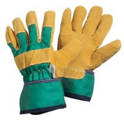 Briers Kids Rigger Gloves Green 8-12yrs Garden / Workwear B0084